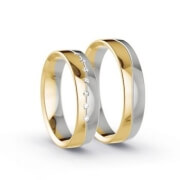 Wedding Rings Two-tone / Three-tone